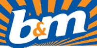 B&M Stores company logo